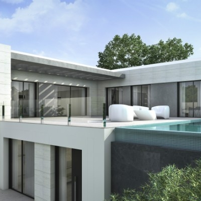 3 bed  new build villas in Moraira