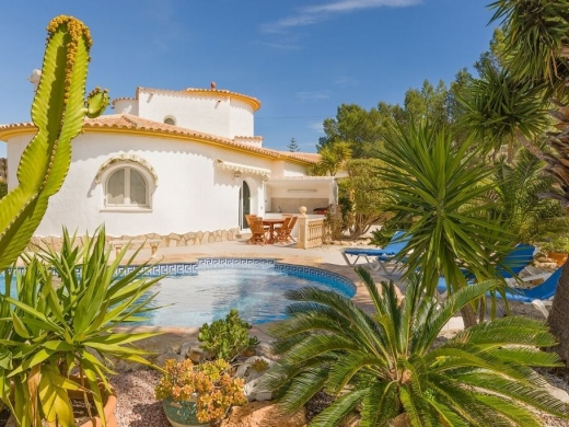 4 bed villa in Calpe