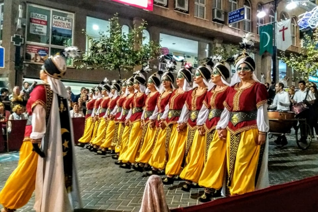 Fiestas in Calpe: Moors & Christians (October 2019)
