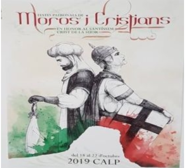 Fiestas in Calpe: Mig Any Moros y Cristianos - Half-Year Celebrations (April 2020)