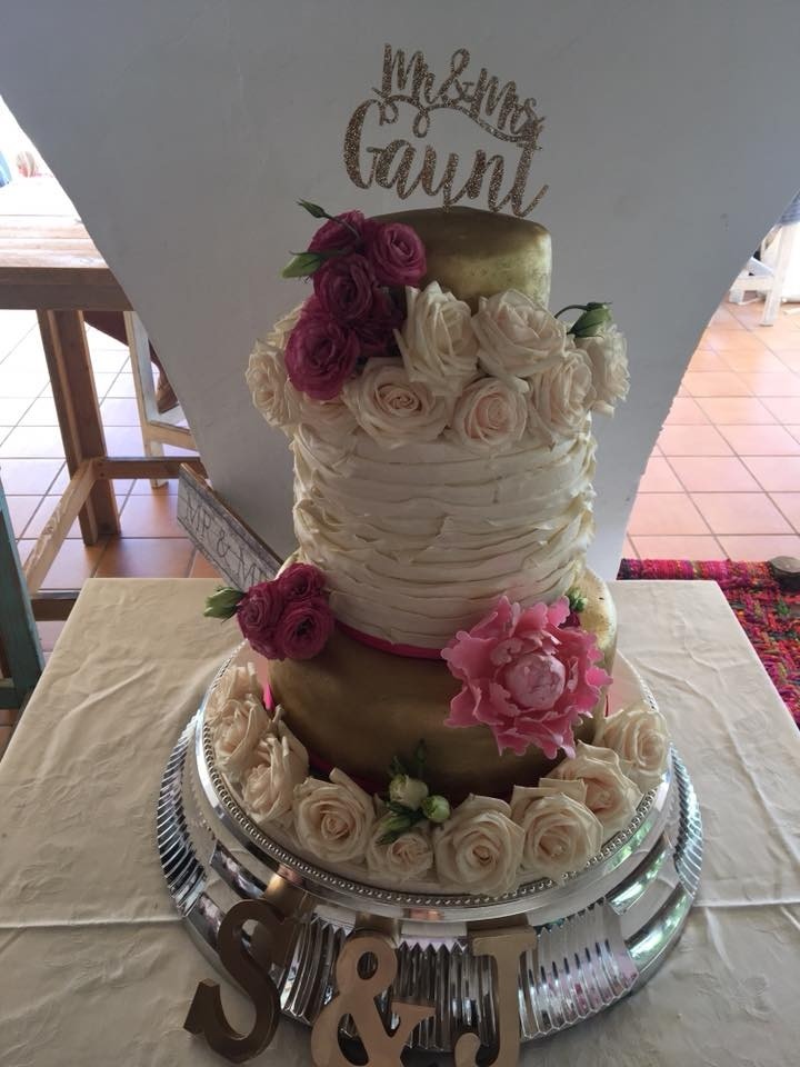 Wedding Cake Designs on the Costa Blanca from Bakerella Cakes