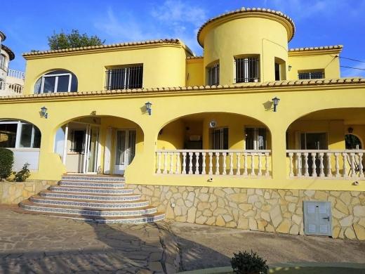 8 bed villa in Benissa Costa
