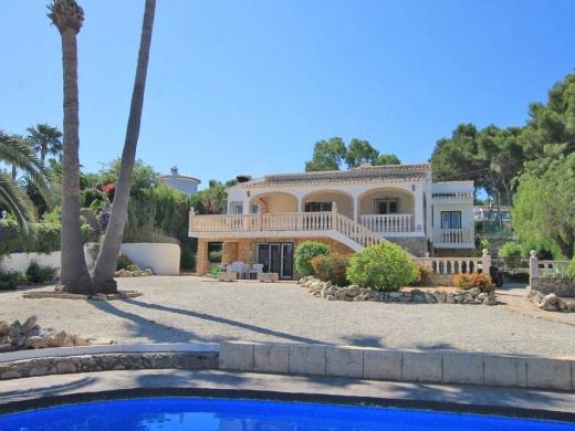 8 bed villa in Javea