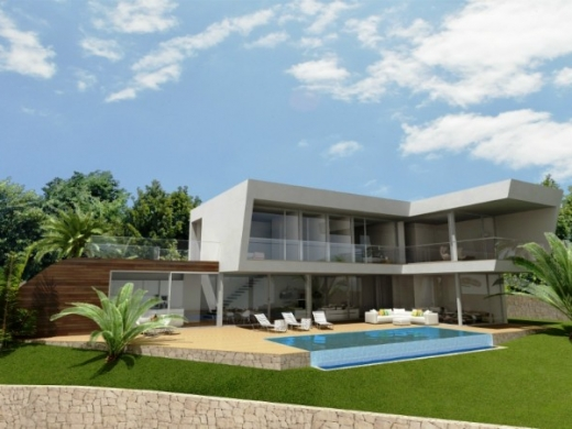 4 bed new build villas in Benissa