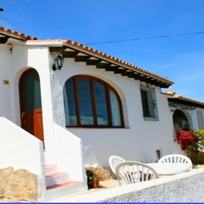 1 bed bungalows & townhouses in Moraira