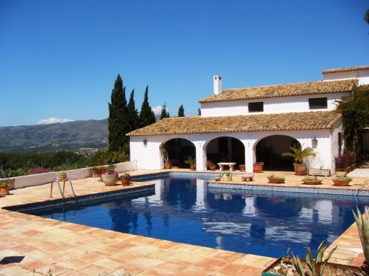 5 bed finca in Benissa
