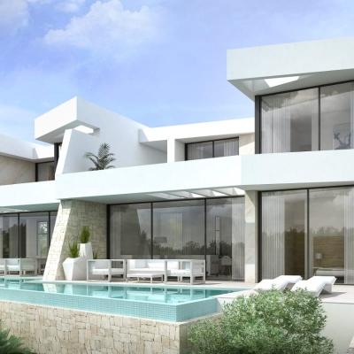 4 bed  linked villa in Moraira