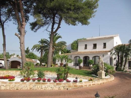 6 bed villa in Javea