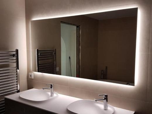 Illuminated Mirrors by Uraldi - New Bathrooms from Kevin Jones