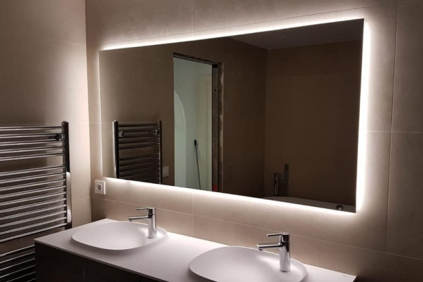 Illuminated Mirrors by Uraldi - New Bathrooms from Kevin Jones