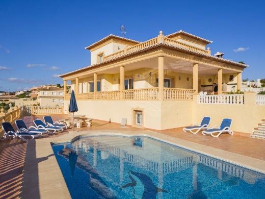 7 bed villa in Calpe