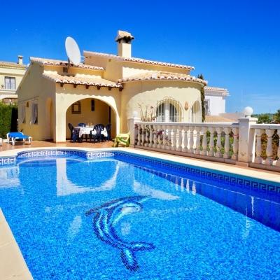 2 bed villa in Benitachell