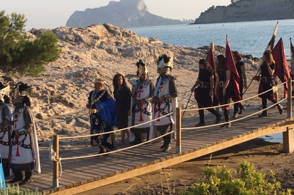 Fiestas in Moraira: Moors & Christians (June 2019)