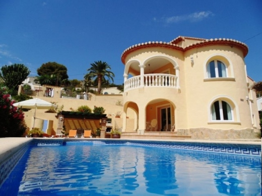 4 bed villas in Benissa