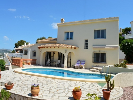 4 bed casa / chalet in Moraira
