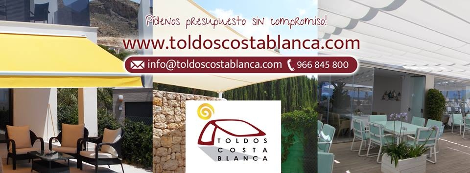 Special 5% discount available from Toldos Costa Blanca