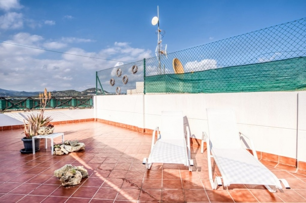 2 bed penthouse in Calpe