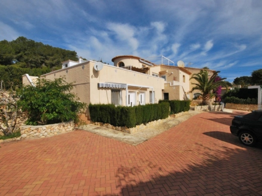 8 bed villa in Moraira