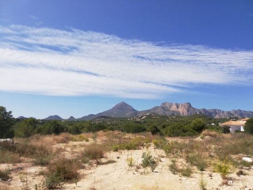 land in Calpe
