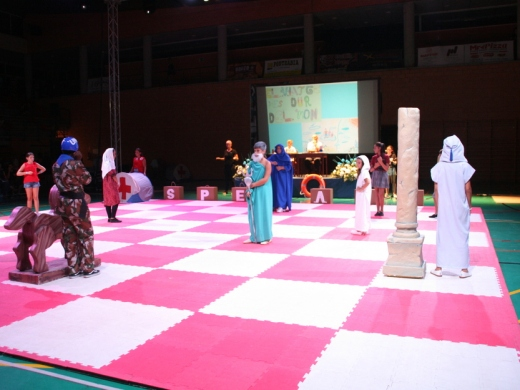 "Festivals in Javea: ""El Ajedrez Viviente"" - Living Chess (July 2019)"
