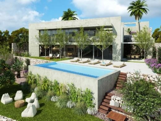 3 bed new build villa in Calpe