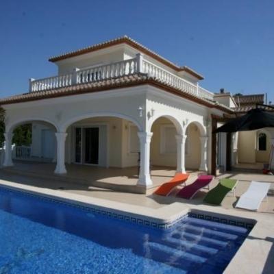 4 bed villas & fincas in Javea