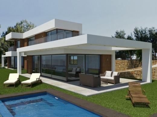 3 bed new build villa in Javea