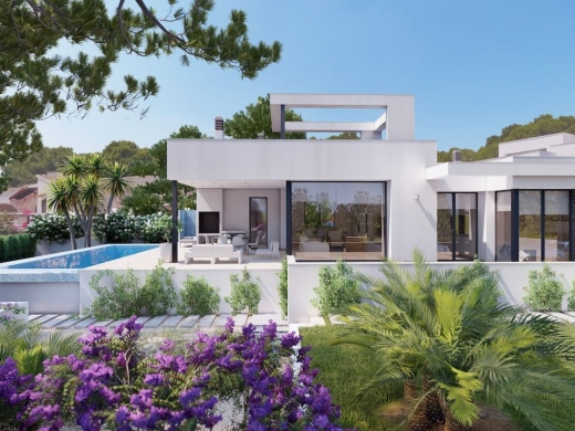3 bed villas in Benissa