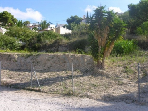 plots in Moraira