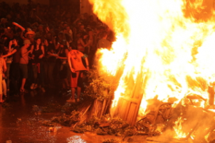 "Fiestas in Javea: ""Fogueres de Sant Joan"" (June 2019)"