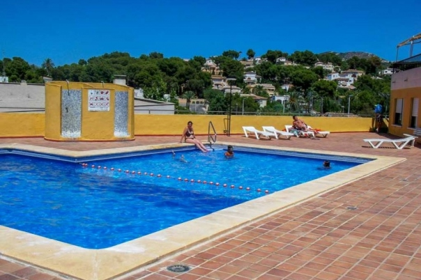 3 bed apartments in Moraira