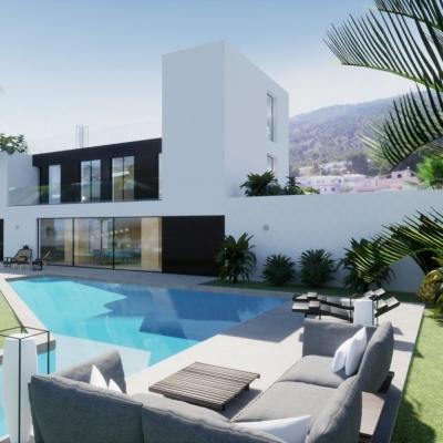 4 bed villa in Albir