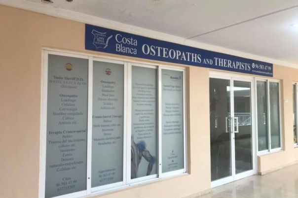 Tonia Sheriff - Osteopaths Costa Blanca