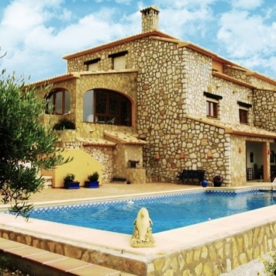 3 bed villas & fincas in Moraira