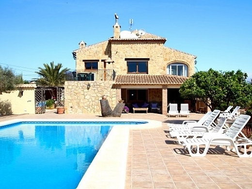 6 bed finca / country house in Javea
