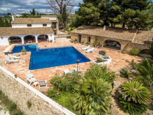 4 bed finca / country house in Benissa Costa