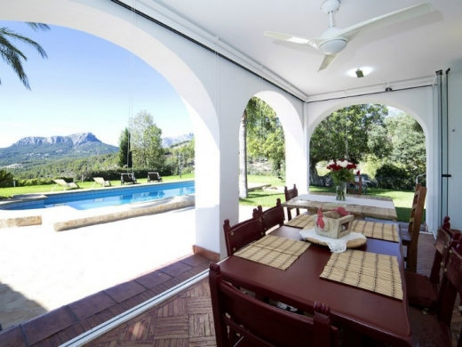 6 bed  finca in Benissa