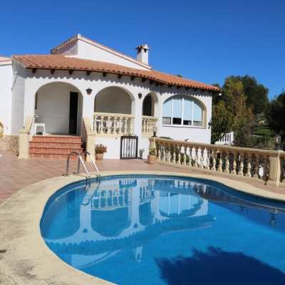 3 bed villa in Benissa-Costa