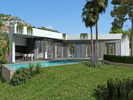 4 bed new build in Calpe