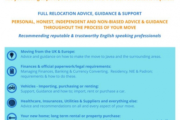 Relocating to Javea - Full Relocation Advice, Guidance & Support