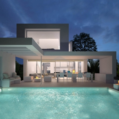 4 bed new construction in Moraira