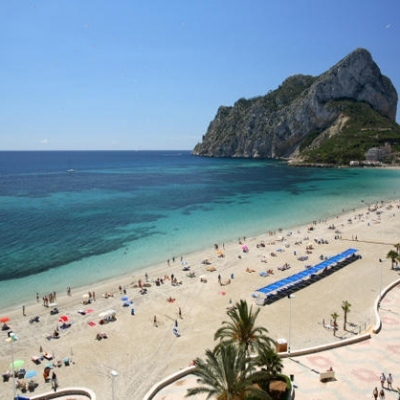 Calpe Beaches - Playa de la Fossa / Levante