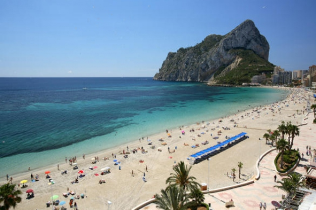 Calpe Beaches - Playa de la Fossa / Levante