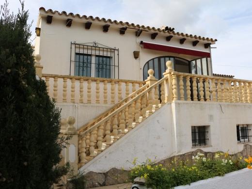 4 bed bungalow in Moraira