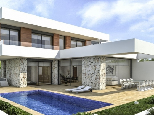 3 bed new construction in Denia