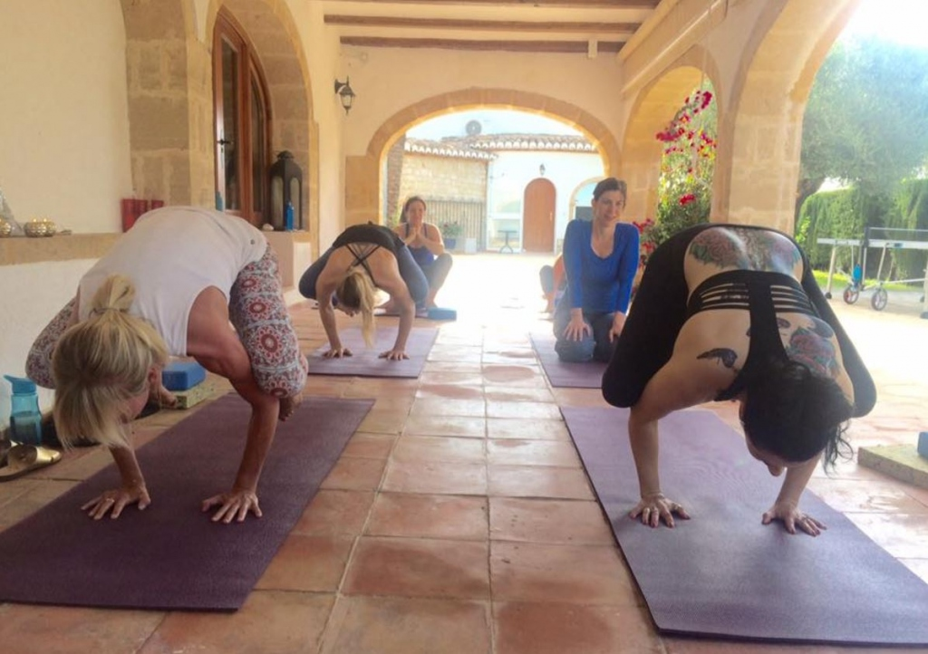 Nicole Stone Weekly Yoga Bliss Classes & Private Yoga Sessions in Calpe-Moraira