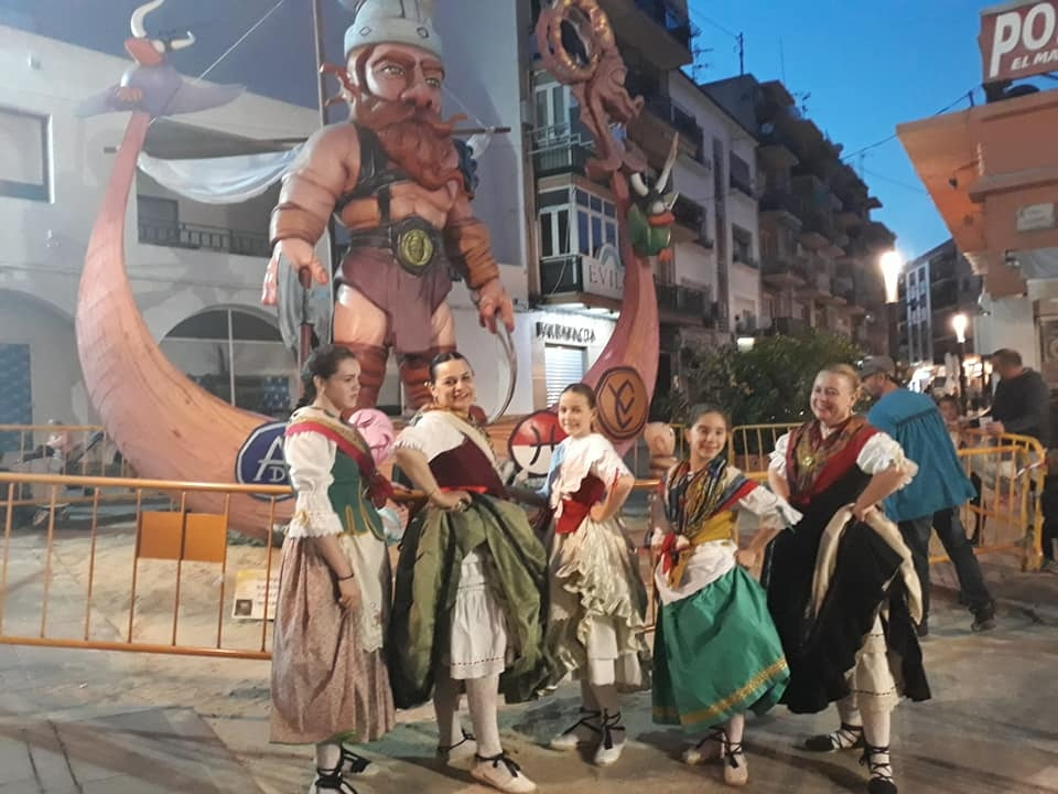 "Fiestas in Calpe: ""En Fallas"" (March 2020)"