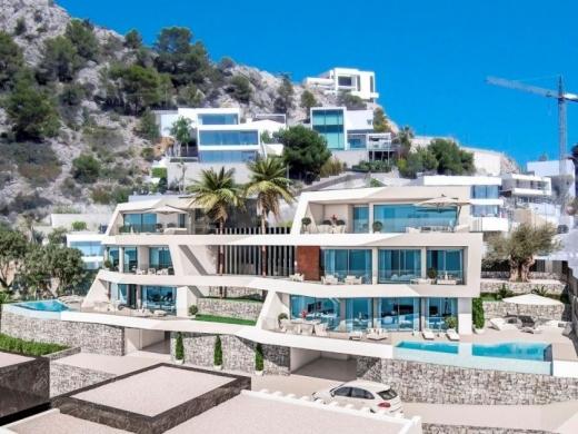 4 bed villa in Altea