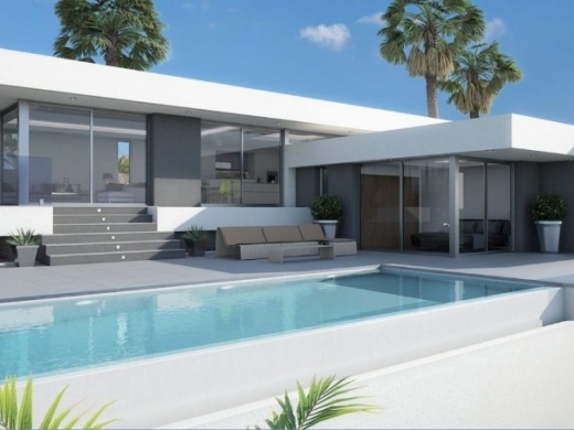 3 bed new build villas in Calpe
