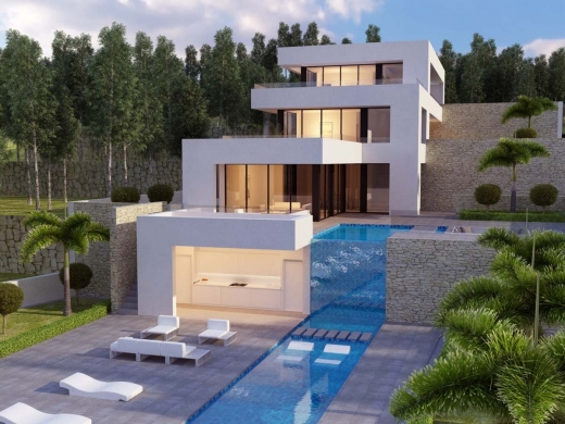 4 bed new build in Javea